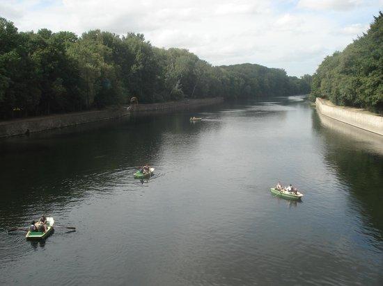 Château de Chenonceau : O rio de chenonceau.
