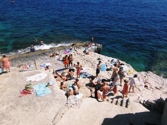 Calanque de Morgiou : 海水浴場