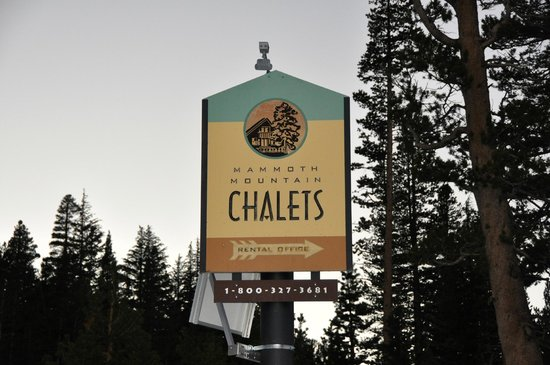 Mammoth Mountain Chalets: Chalets