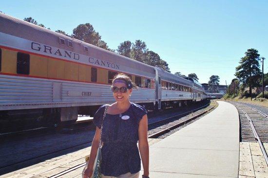 Grand Canyon Railway Hotel: All aboard