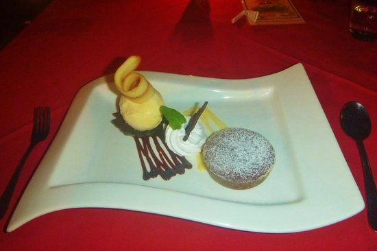 The Patio Restaurant: The Hot Chocolate Souffle- a must try!!