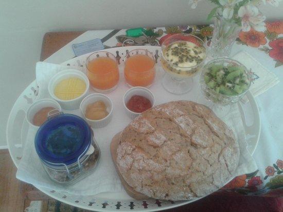 Earthstead Villas: home grown and lovingly made breakfast
