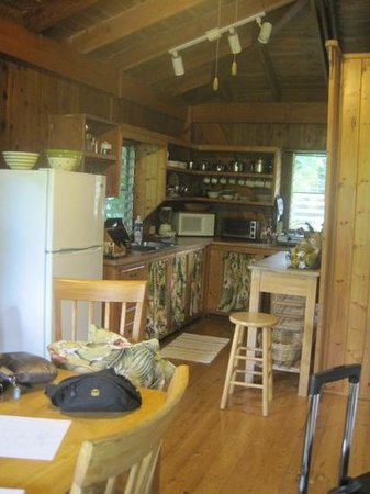 North Country Farms: The kitchen at orchard Cottage