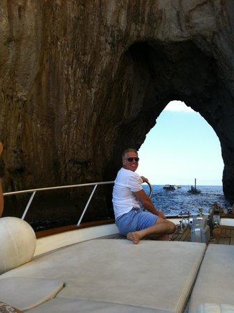 Positano Boats: Up close