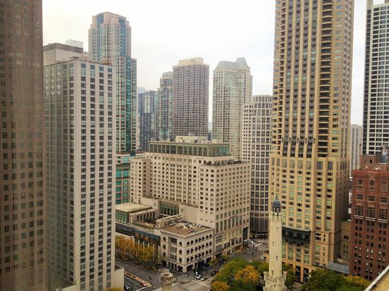 The Ritz-Carlton, Chicago : Michigan Ave view