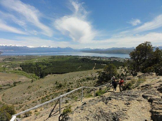 Cavernas del Viejo Volcan Parque Cerro Leones: Vista a partir do Cerro Leones