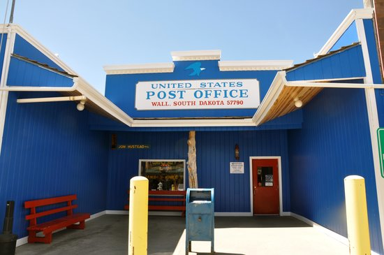 Wall Drug: Wall, SD, Post Office