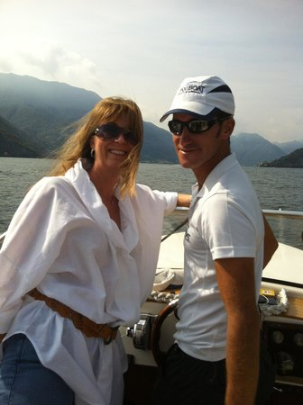 Taxi Boat Varenna - Day Tours: Our skipper Luca