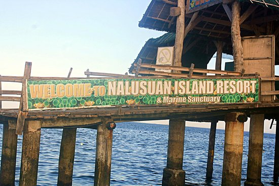 Nalusuan Island Marine Sanctuary: Nalusuan Island!