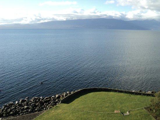 Villarrica Park Lake Hotel : desde la habitación...