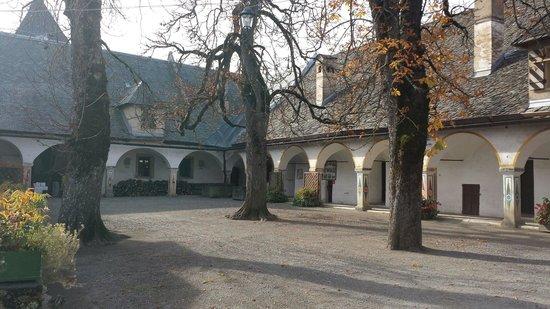 Hochosterwitz Castle (Burg Hochosterwitz): Cortile del Castello