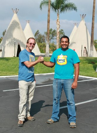 Wigwam Motel: James and Kumar