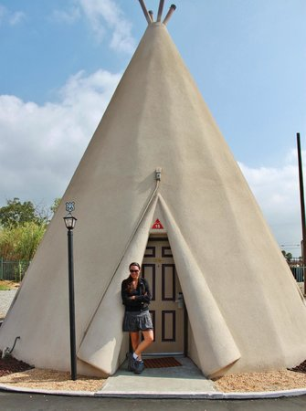 Wigwam Motel: I love our wigwam!
