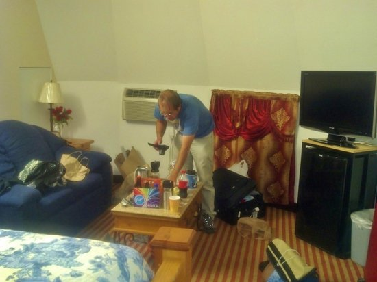 Wigwam Motel : Inside a wigwam
