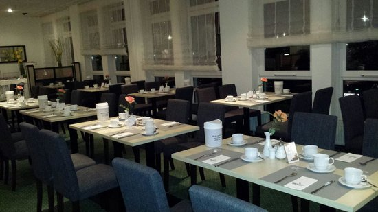 ACHAT Comfort Köln/Monheim: Der Frühstücks Raum
