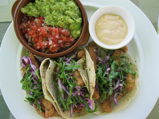 Sky Lounge Bar : Fish Tacos...amazing!