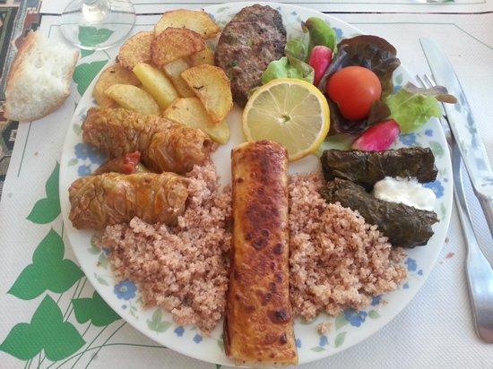 Anouche : Assiette découverte