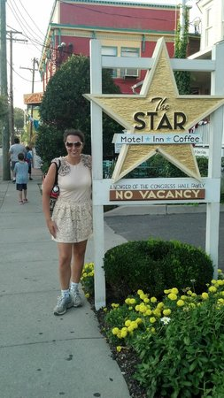 The Star: In front of the hotel