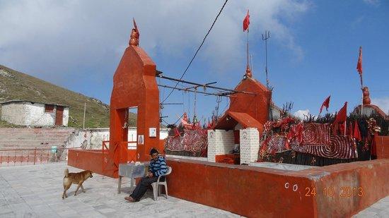 Dainkund Peak: Temple