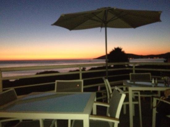 The Cliffs Resort: sunset from the patio