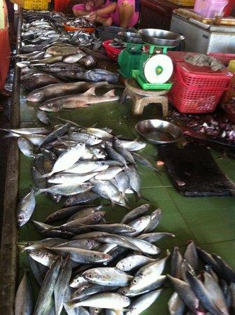 Infiniti Cafe & Lounge: Fish Market