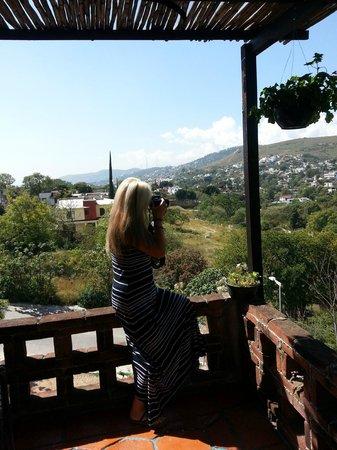 Hotel Villa Oaxaca: off my tarrace