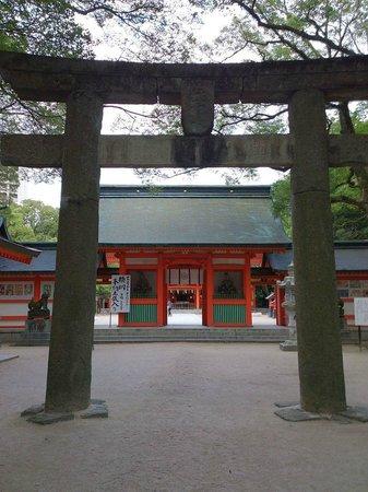 Sumiyoshi Shrine: shrine
