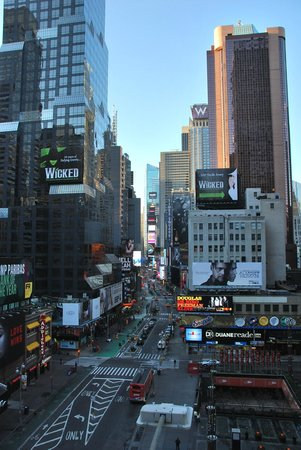 Novotel New York Times Square: room with a view