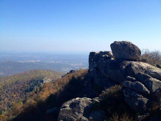 Old Rag Mountain Hike: Summit