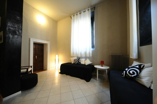 Le Muse Bed and Breakfast: salotto