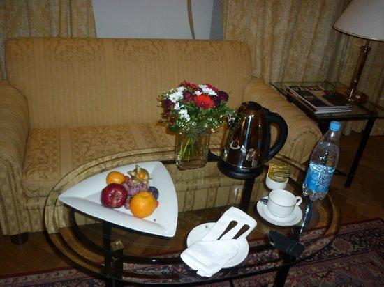 Belmond Grand Hotel Europe: Приветствие