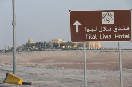 Tilal Liwa Hotel: The hotel compound