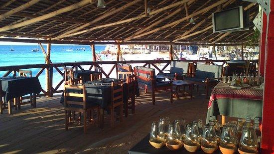 Nungwi Paradise Beach Bungalows : Paradise Restaurant