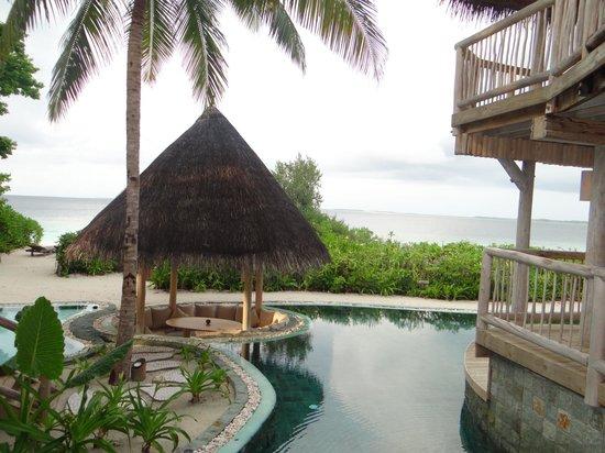 Soneva Fushi Resort: villa view