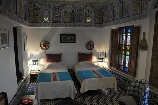 Dar el Bali : room on the upper floow