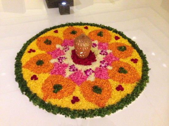 The Oberoi, Mumbai : Un dettaglio floreale