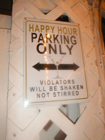 The Palms Restaurant : another funny sign posted in the place!!!