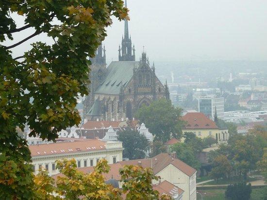 Parkhotel Brno: Вид на собор
