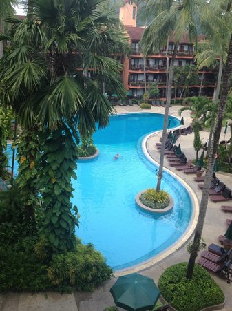 Patong Merlin Hotel : View from our room