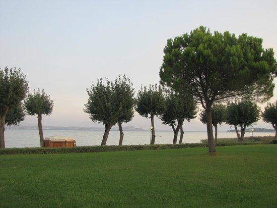 The Garda Village: The Garda Lake from the Village