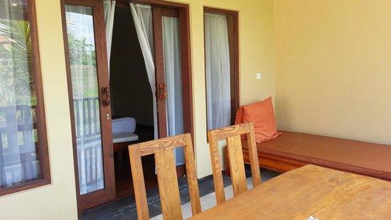 Biyukukung Suites and Spa: balkon