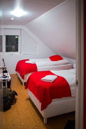 Like Vik Guesthouse: one of the 2 person bedrooms