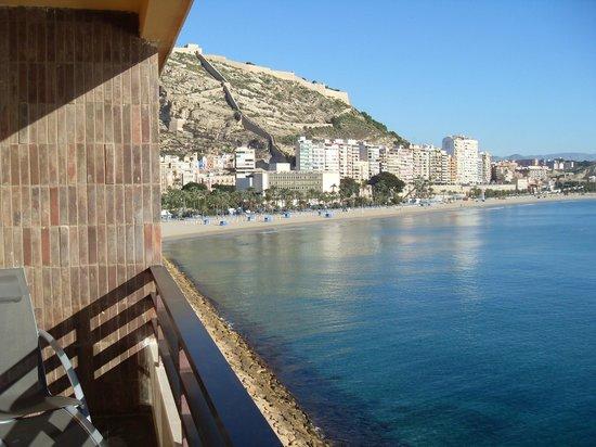 Hotel Spa Porta Maris & Suites del Mar : Вид с одного из балконов