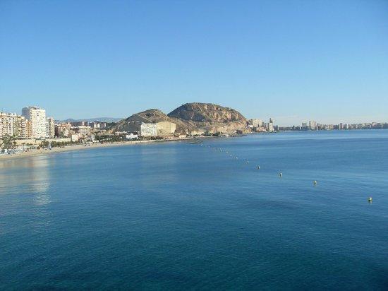 Hotel Spa Porta Maris & Suites del Mar : Вид из отеля