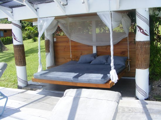 Makaira Resort: The cabana bed for an afternoon nap