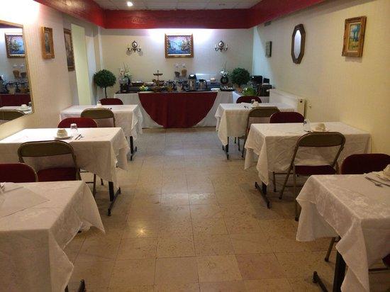 Hotel Vintimille : Salle du petit-déjeuner