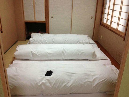 Ryokan Kamogawa : Futones