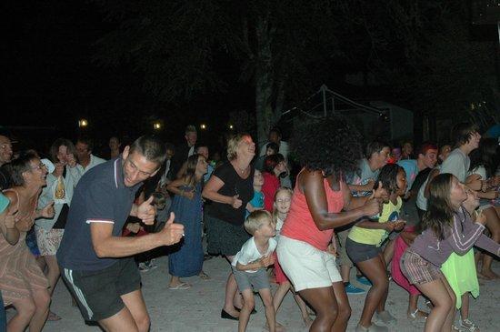 Camping L'Océane : Chorégraphie