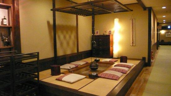 Hidatei Hanaougi: ambiente comune