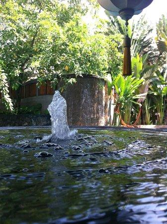 Villa Samadhi: Serene waiting area